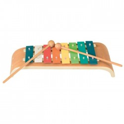 XYLOPHONE 8 NOTES COURBE