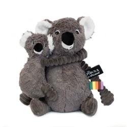 TRANKILOU KOALA MOMMY AND BABY GREY