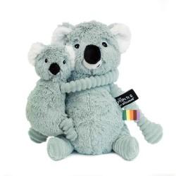 TRANKILOU KOALA MOMMY AND BABY GREEN