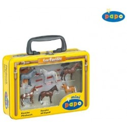 MINI PAPO (6) HORSES 2 - Discontinue 2011