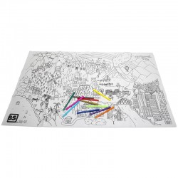 GIANT WASHABLE COLORING