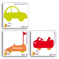 D'CO TRIO OF SMALL CARS