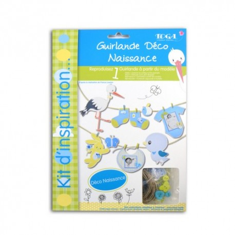 GARLAND DECO KIT - LEON BLUE