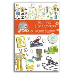 BLOC DE STICKERS GARÇON (262)
