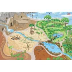 Safari playmat 100 x 150 cm
