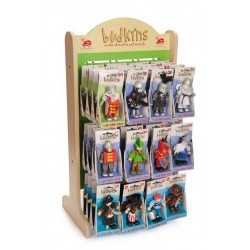 Budkins Small wooden display stand