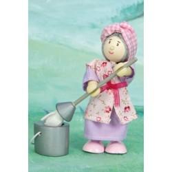 La dame de ménage Mme Mop