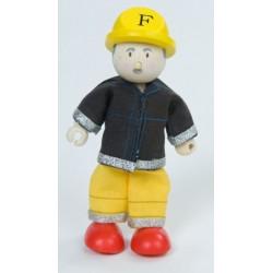 Pompier (jaune) ***