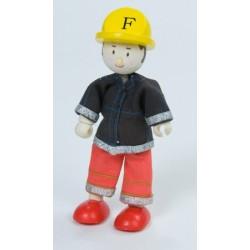 Chef pompier (rouge) ***