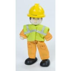 worker (orange)