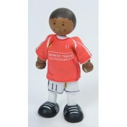 Joueur de soccer (rouge) No 11