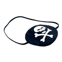 Cache de Pirate, Pirate Tête de mort blanc