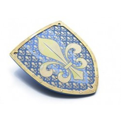 Knight Shield, Fleur-de-lis