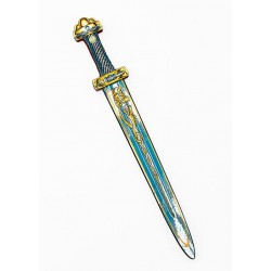 Viking sword, Harald, blue