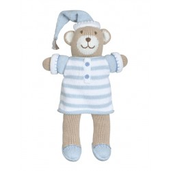"Bear Pajamas 7"" Blue"