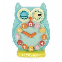 Blink Owl Clock -