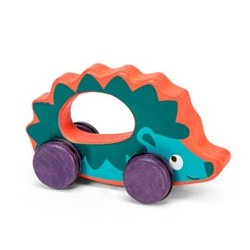 Harrison the Hedgehog on wheels