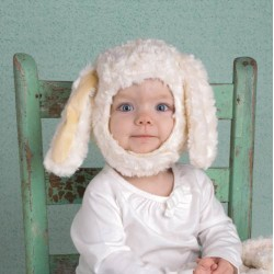 BUNNY HAT 6-12 MONTHS