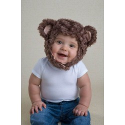 MONKEY HAT 2-3 YEAR