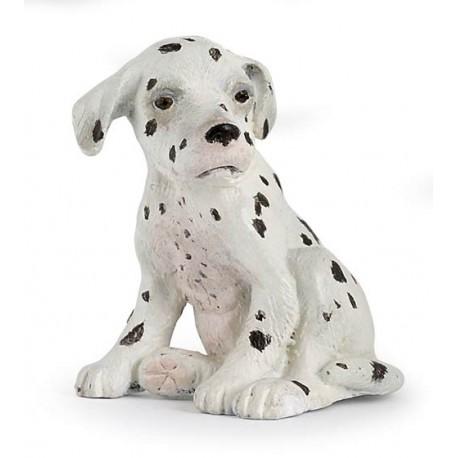 Bébé dalmatien assis porte clés***