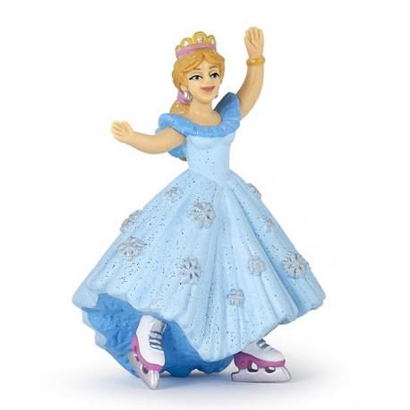 Princesse aux patins à glace