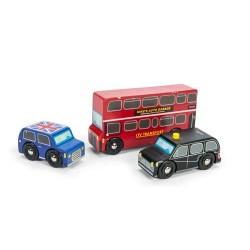 Petit set de voitures de Londres