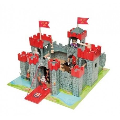 Lion Heart Castle - Red