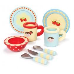 Ensemble de tasses et assiettes