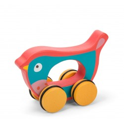 Léo l'oiseau sur roues