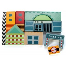 City Cubes (assortiement de 6 en 3 designs)