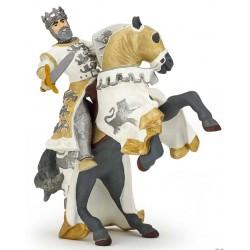 Cheval du roi Richard blanc