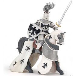 Cheval drapé blanc