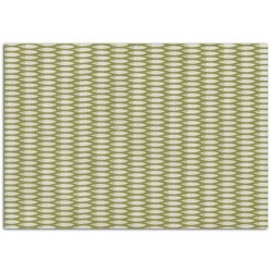 ADHESIVE FABRIC 21X29.7CM - BAMBOO GREEN & WHITE