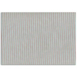 ADHESIVE FABRIC 21X29.7CM - PINK PEARLS BLUE