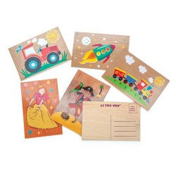 Cartes postales (assortiment de 18) ***