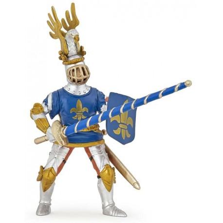 Blue knight fleur de lys