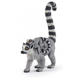 Lemur And Baby