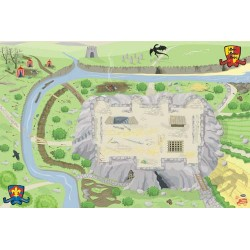 Castle playmat 100 x 150 cm