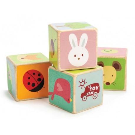 4 Cubes - Bois Joli