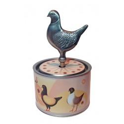 Socle Pigeon & La Valse d'Amélie
