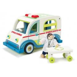 L'ambulance et le docteur