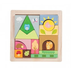Woodland Puzzle Blocks ***