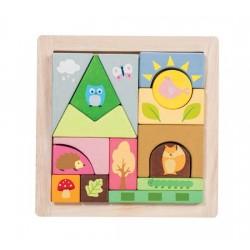 Puzzle Amis de la Forêt