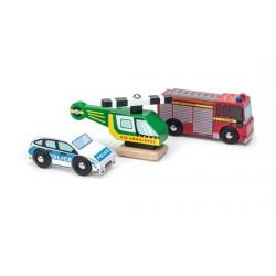 Emergency Vehicles Set