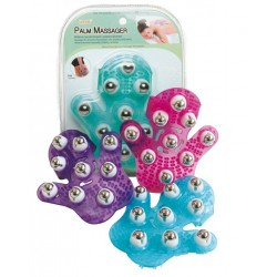 Lindo Palm massager (34) Assorted: Purple / Blue / G