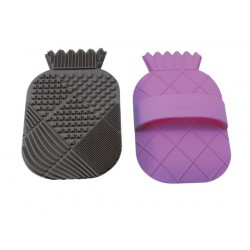 CosMat Brush Cleaning Pad - Black/Purple