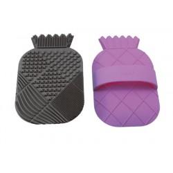 CosMat Brush Cleaning Pad - Black/Purple