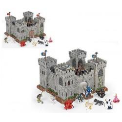 MINI medieval castle (plastic)