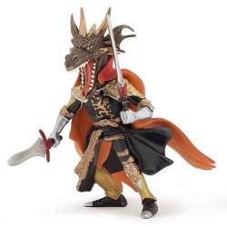 Homme dragon de feu