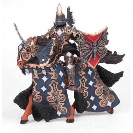 Dark butterfly warrior and horse